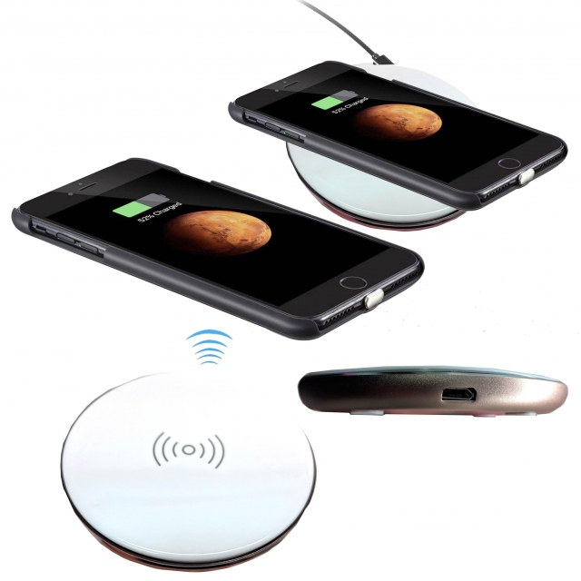 SPEZE WIRELESS HOME CHARGER WIGO ROSE GOLD