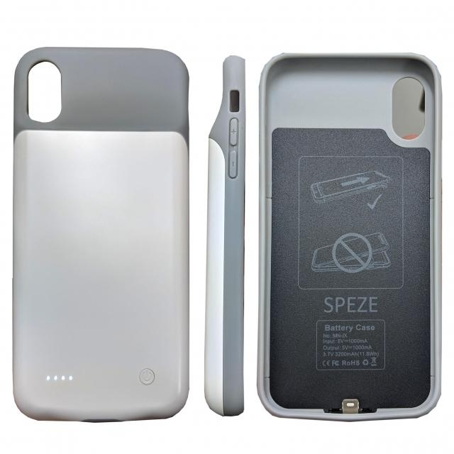 SPEZE IPHONE 6 7 8 POWER CASE WHITE 3000MH