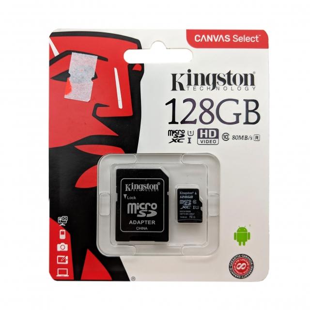 KINGSTON MEMORY CARD 128 GB